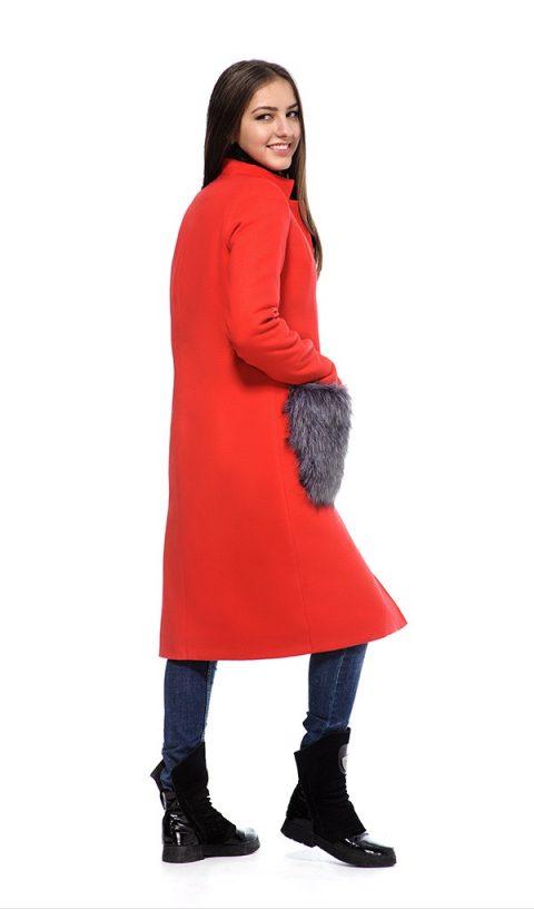 Зимнее пальто женское 083