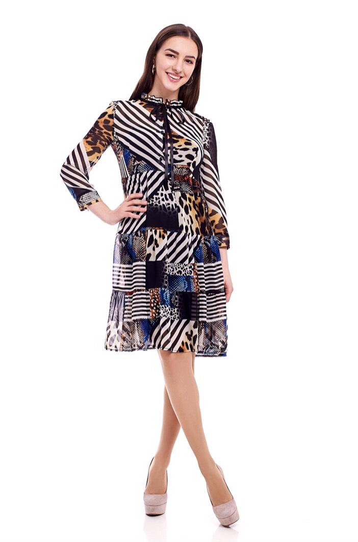 Платье 1704-21 женское шифон