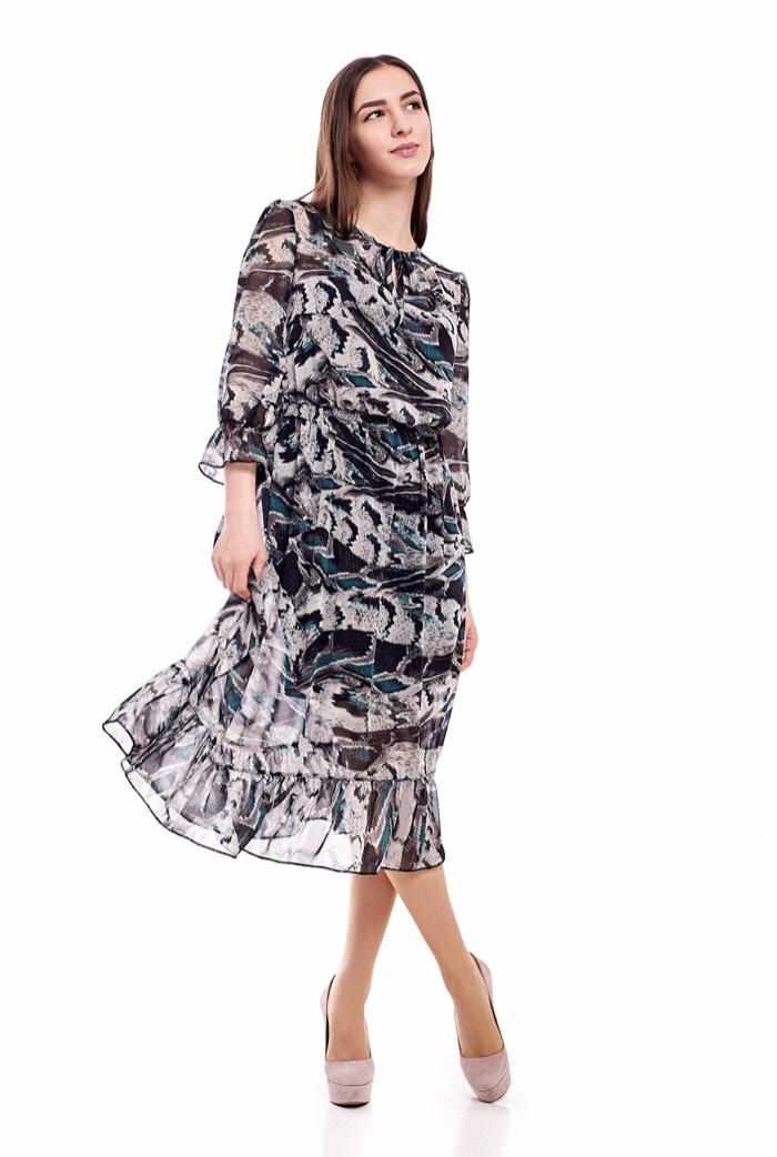Платье 1704-22 женское шифон