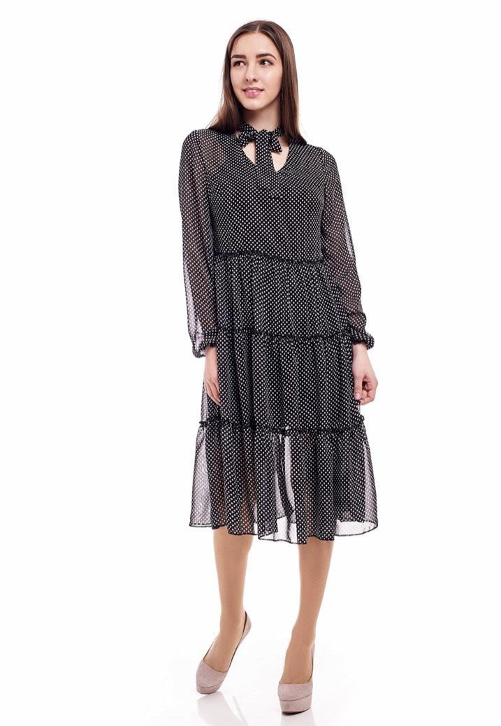 Платье 1704-23 женское шифон