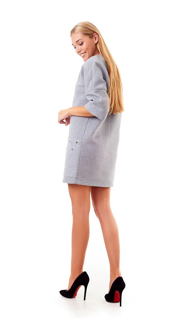 Платье 1211-16 женское тёплое
