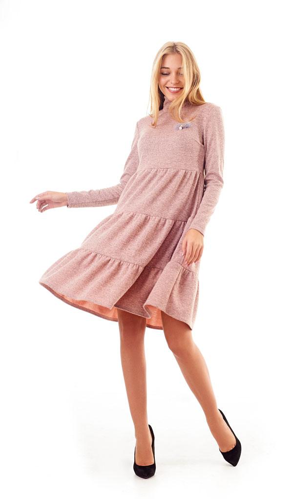 Платье 1211-18 женское трикотажное
